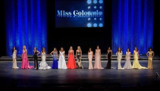 Miss CO evening gown